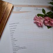 Hochzeitsbudget Liste