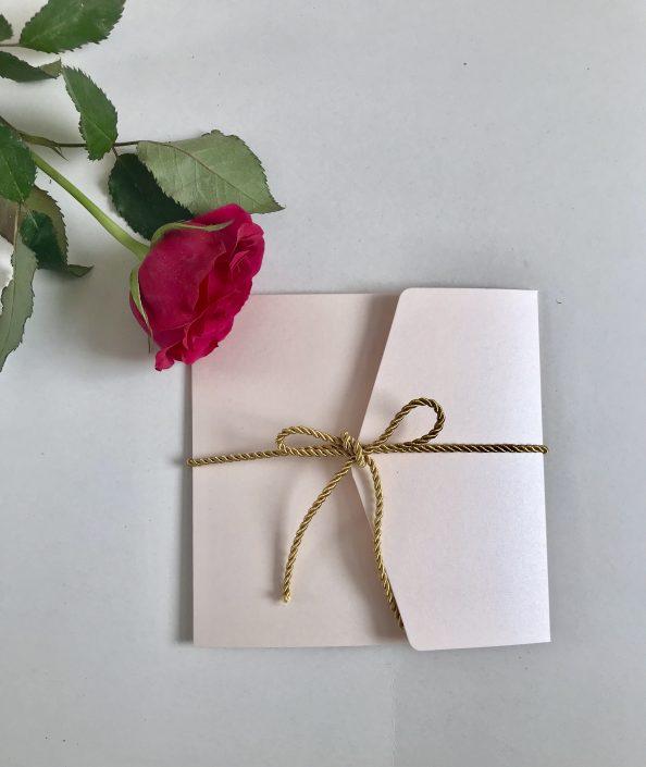 Hochzeitseinladung Herzdruck