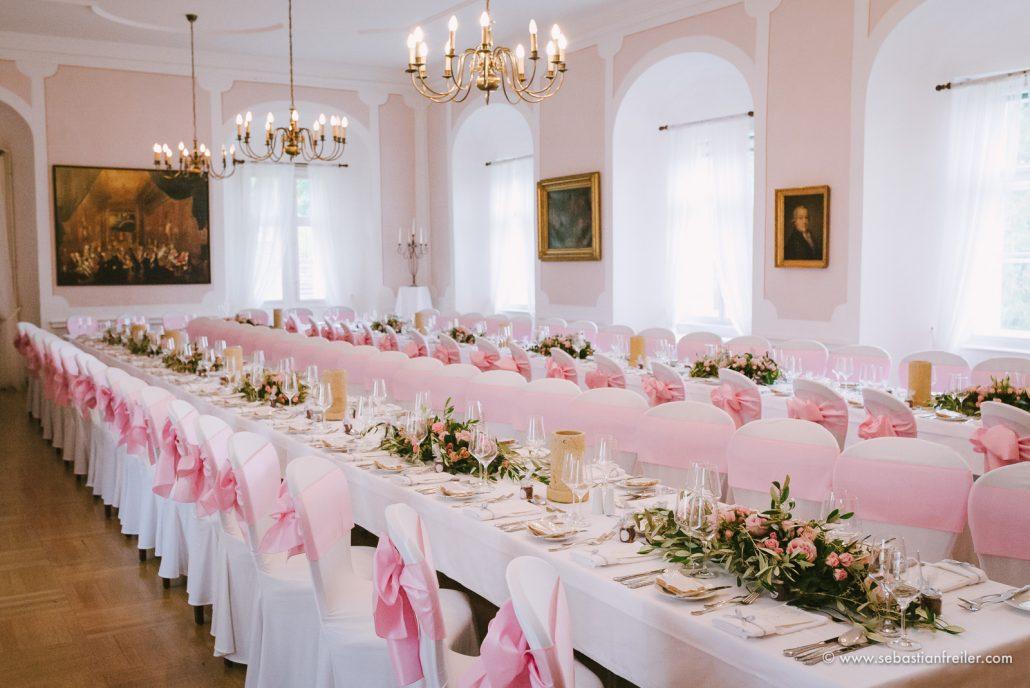 Hochzeit im Schloss Festsaal