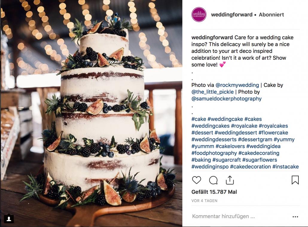 Instagram Inspiration für die Hochzeit