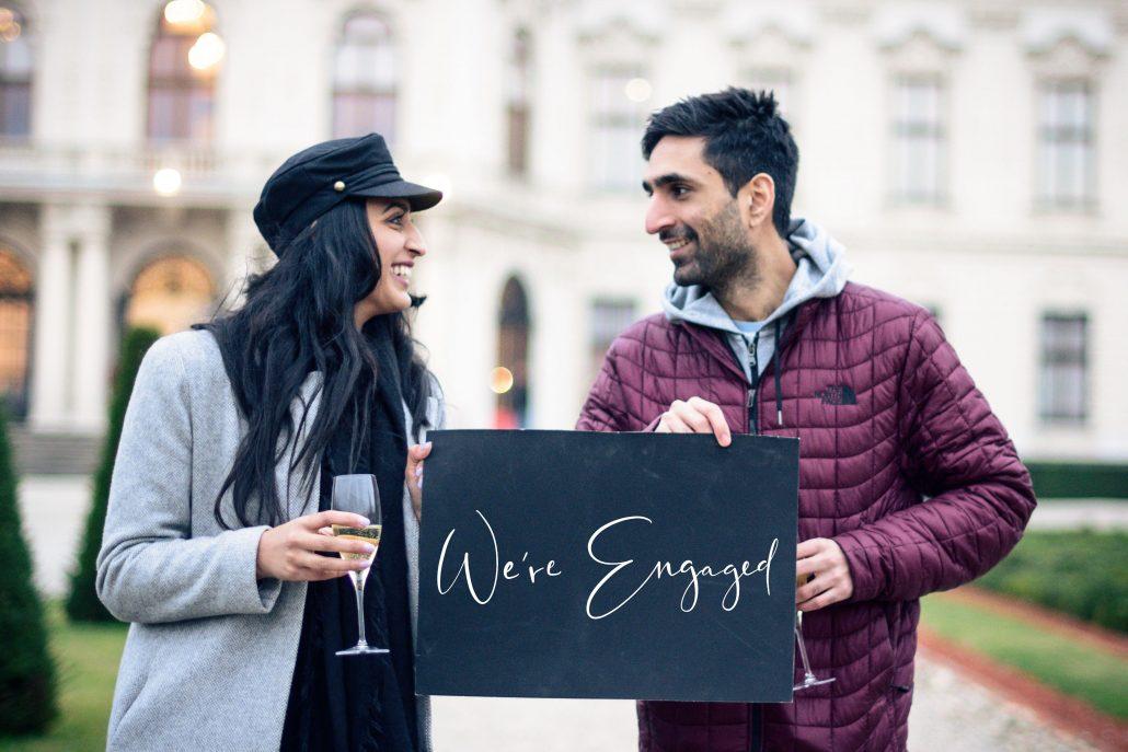Surprise Proposal in Vienna
