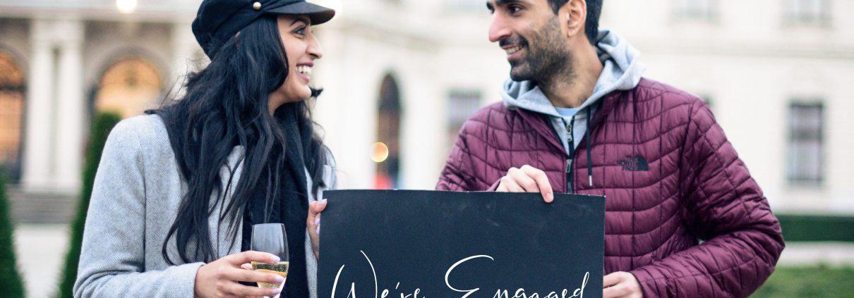 Verlobung in Wien