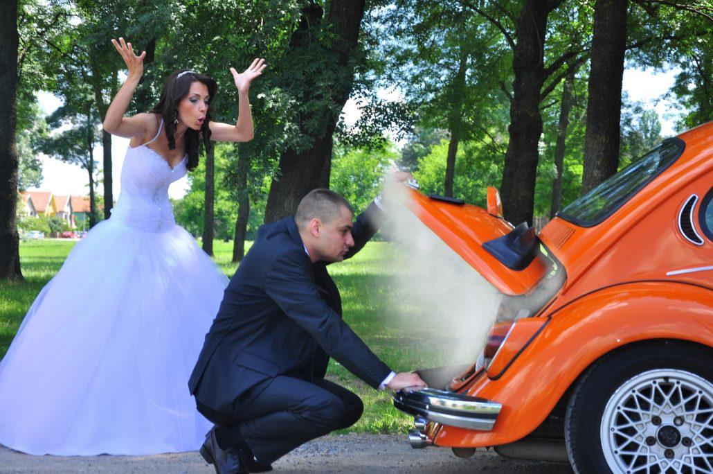 Notfall bei der Hochzeit