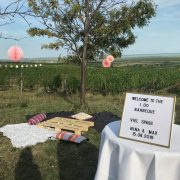 Schilder für die Hochzeit