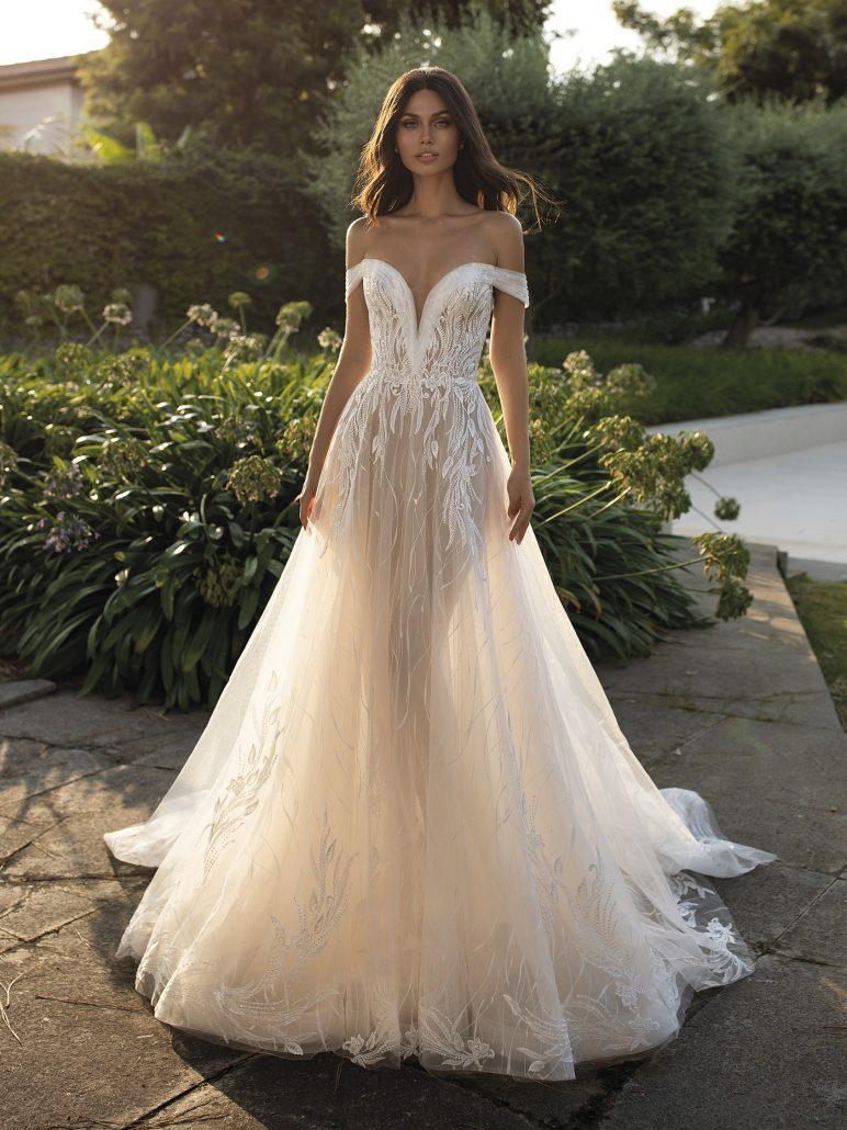Brautkleider von Berta und die aussehen wie Berta Kleider - MHE