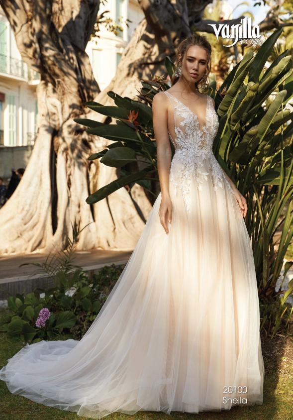 Brautkleid wie von Berta