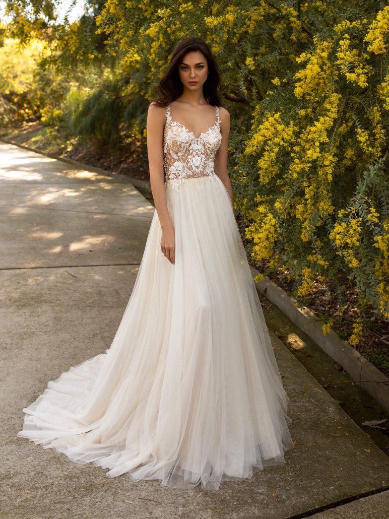 Brautkleid wie Berta
