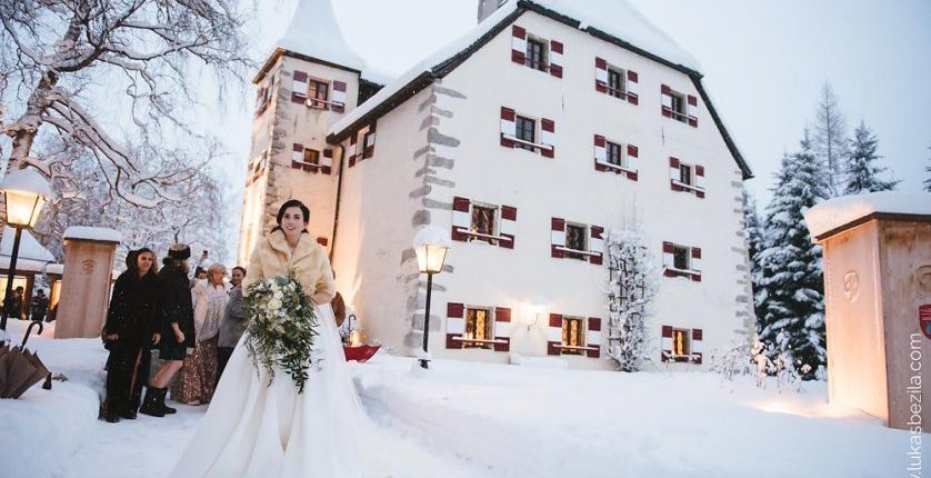 Winterhochzeit in Österreich