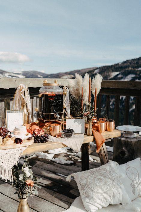 Hochzeit im Winter