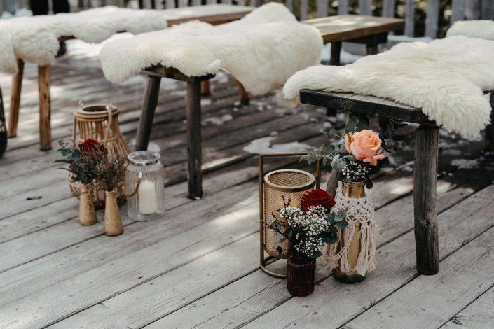 Hochzeit im Jänner