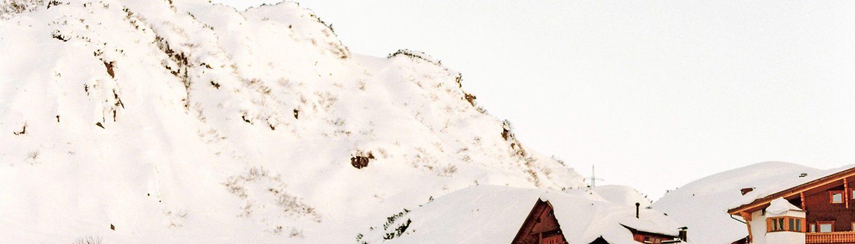 winter wedding alps