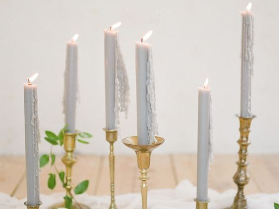 Kerzen Tischdekoration Hochzeit
