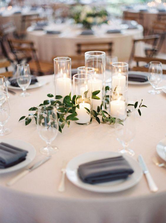 Hochzeitsdekoration Kerzen