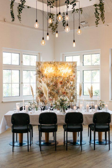 Hochzeitstafel Strandhaus Mörbisch