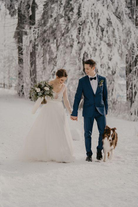 Winter Wedding in Vienna